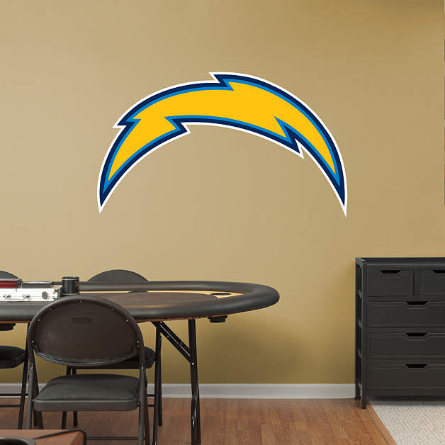 San Diego Chargers Decals: San Diego Chargers Logo Fathead Wall Decal