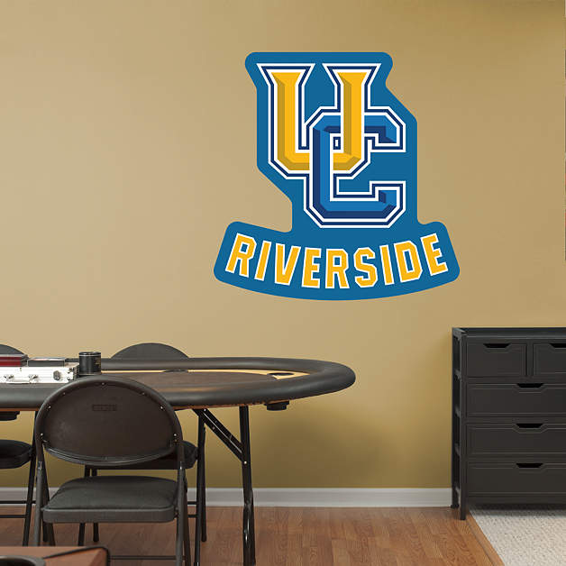 Uc riverside highlanders logo wall decal shop fathead