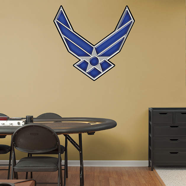 United states air force symbol wall decal shop fathead for Air force decoration