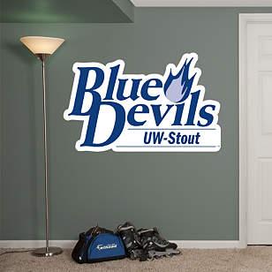 Wisconsin-Stout Blue Devils Logo