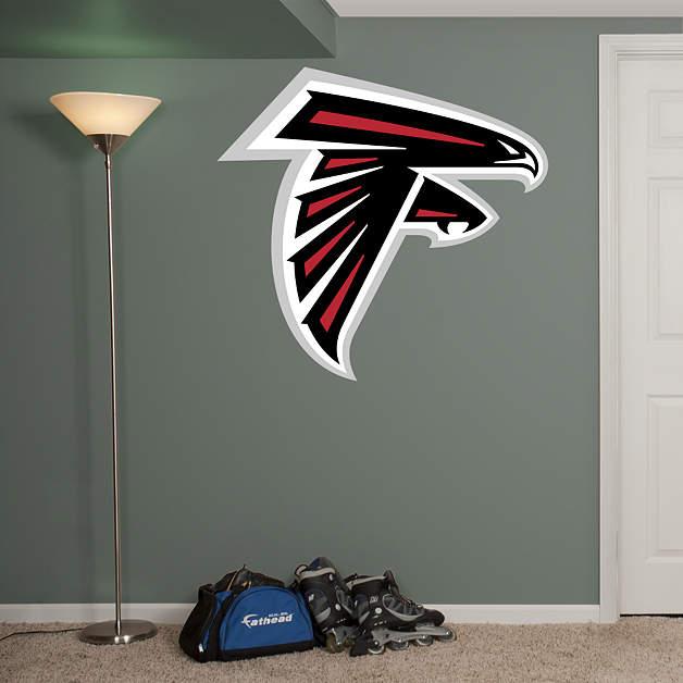 Atlanta Falcons Logo Wall Decal Shop Fathead 174 For