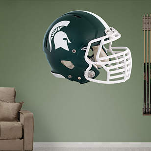 Michigan State Spartans Helmet