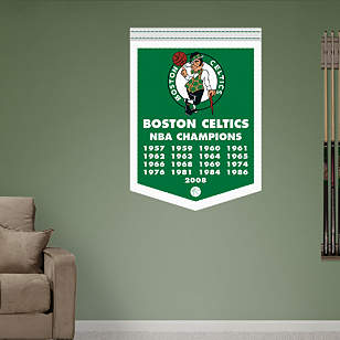 Boston Celtics NBA Champions Banner