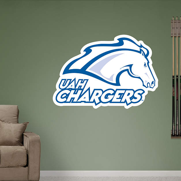 Uah Chargers Logo Fathead Wall Decal