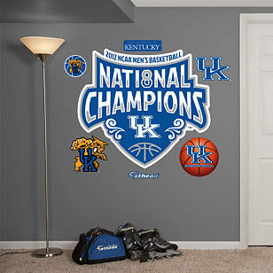 Kentucky Wildcats 2012 NCAA Men's Basketball National Champions Logo