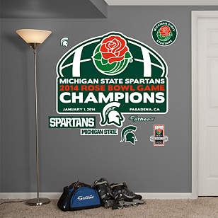 Michigan State Spartans - 2014 Rose Bowl Game® Champions Logo