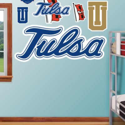 Tulsa Golden Hurricane Logo Fathead Wall Decal