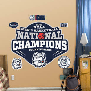 UConn Huskies 2011 NCAA Men's Basketball Champions Logo