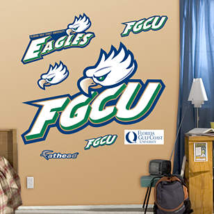Florida Gulf Coast Eagles Logo