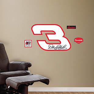 No. 3 Logo - Fathead Jr.