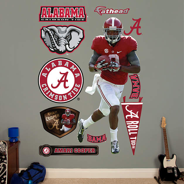 life size amari cooper alabama wall decal shop fathead. Black Bedroom Furniture Sets. Home Design Ideas