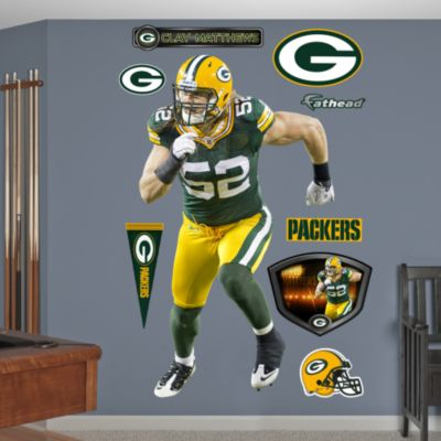 Aaron Rodgers - No. 12 Fathead Wall Decal