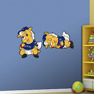 Texas Rangers Baby Mascot