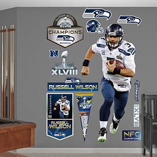 Russell Wilson - Super Bowl XLVIII