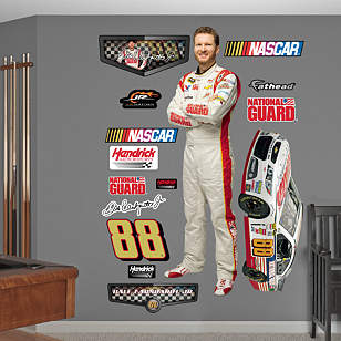 Dale Earnhardt Jr. National Guard Driver