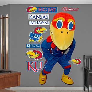 Kansas Jayhawks Mascot - Big Jay