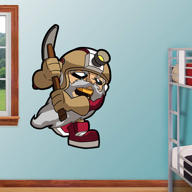 San francisco 49ers rusher wall decal shop fathead for for 49ers wall mural