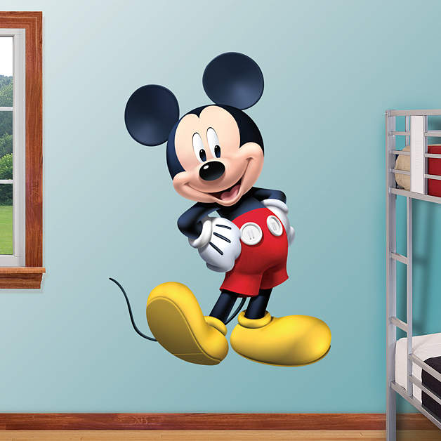 mickey mouse clubhouse fathead wall decal. Black Bedroom Furniture Sets. Home Design Ideas