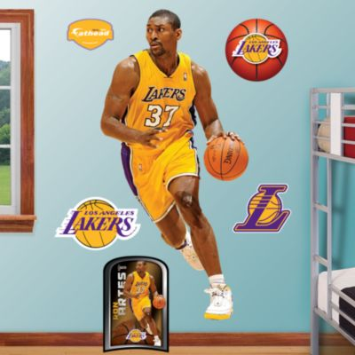 Metta World Peace Fathead Wall Decal