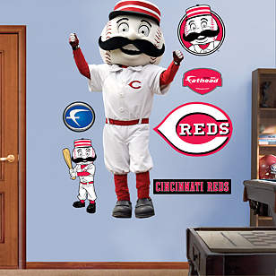 Cincinnati Reds Mascot - Mr. Redlegs