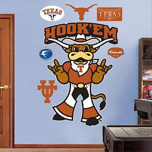 Texas Mascot - Hook'Em