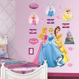 Aurora, Cinderella & Belle