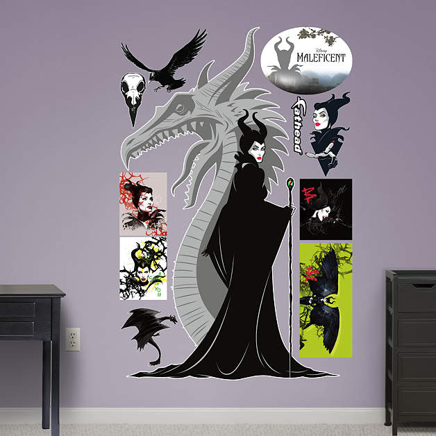Maleficent Wall Decal Shop Fathead 174 For Maleficent Decor