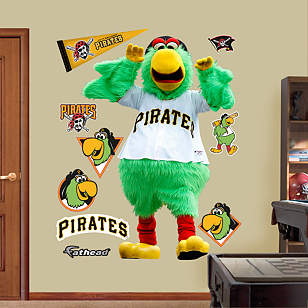 Pittsburgh Pirates Mascot - Pirate Parrot
