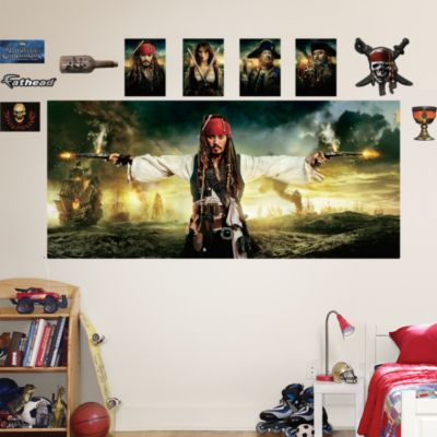 Pirates of the Caribbean: On Stranger Tides Mural