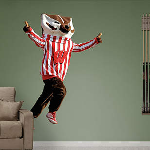 Wisconsin Mascot - Bucky Badger