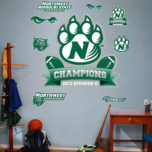 Northwest Missouri State Bearcats - DII Football Champions Logo