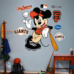 Mickey Mouse - San Francisco Giant