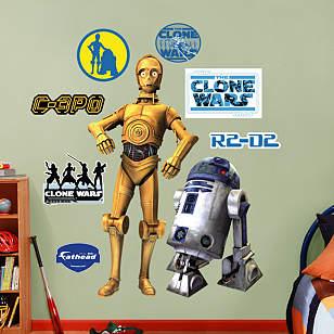 C-3PO and R2-D2 - Clone Wars