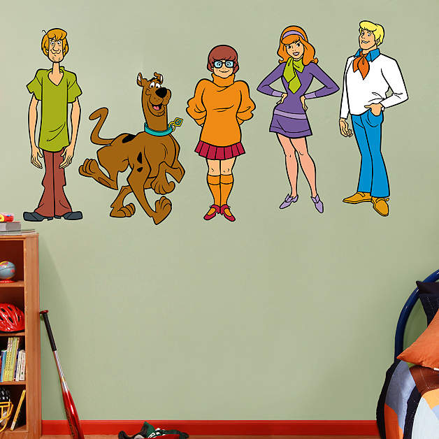 Scooby-Doo Collection Fathead Wall Decal