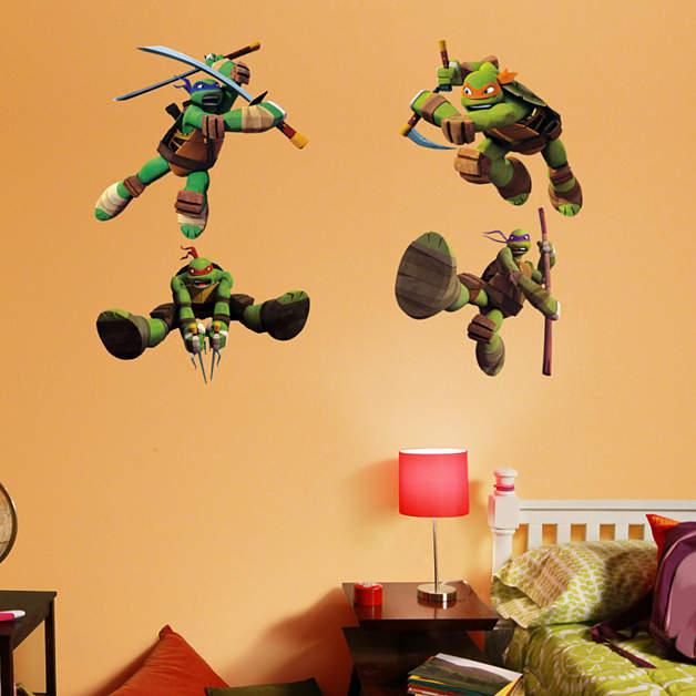 Teenage Mutant Ninja Turtles Collection Wall Decal Shop