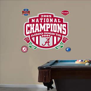 Alabama Crimson Tide BCS Champions Logo