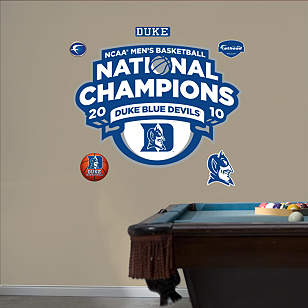 Duke 2010 NCAA Men's Basketball National Champions Logo