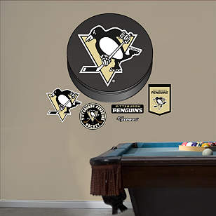 Pittsburgh Penguins Puck Logo