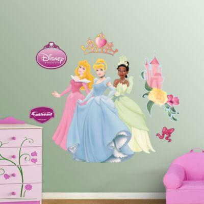 Aurora, Cinderella & Tiana Fathead Wall Decal