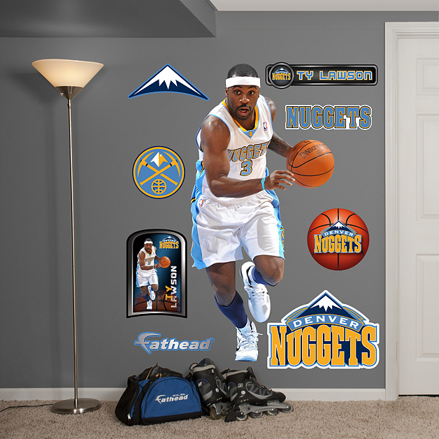 Nuggets X Clippers: Life-Size Ty Lawson Wall Decal