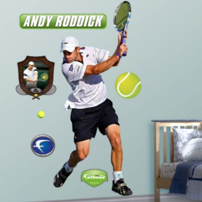 Andy Roddick Fathead Wall Decal