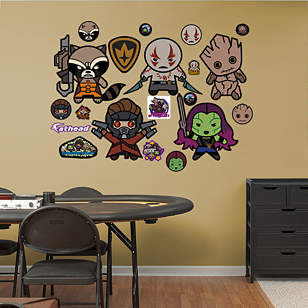 Guardians of the Galaxy Kawaii Collection
