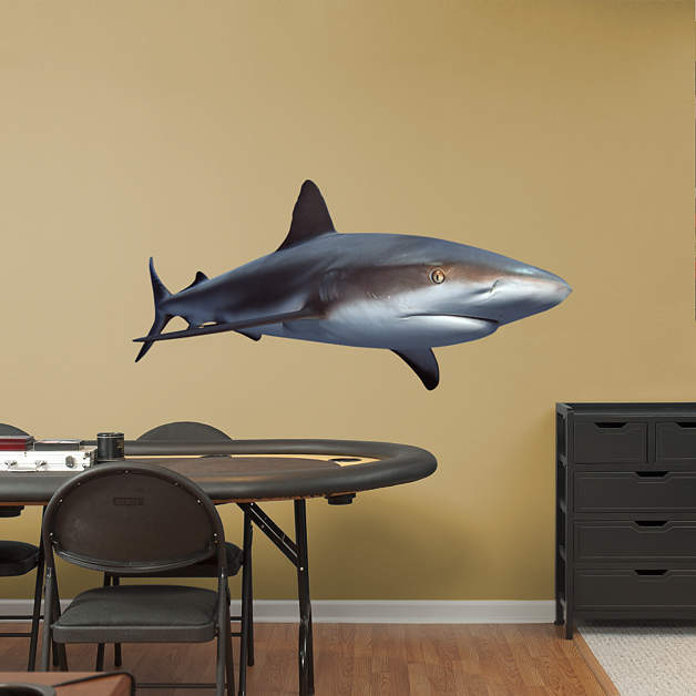 Reef shark wall decal shop fathead for general animal for Fish table sweepstakes near me