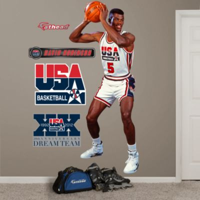 David Robinson: 1992 Dream Team Fathead Wall Decal