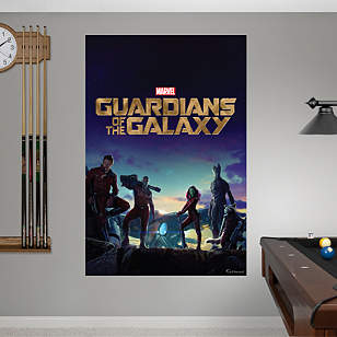 Guardians of the Galaxy - Movie Poster Mural