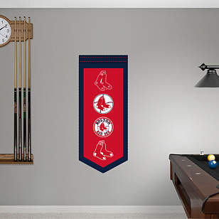 Boston Red Sox Logo Evolution Banner