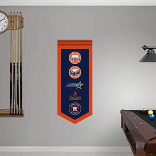 Houston Astros Logo Evolution Banner