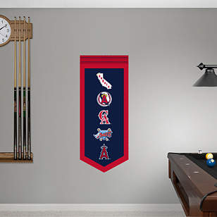 Angels Logo Evolution Banner