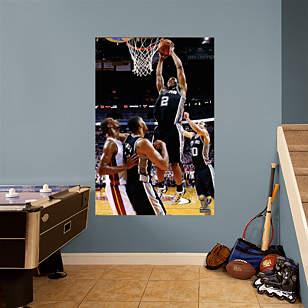 Kawhi Leonard 2014 NBA Finals Dunk Mural