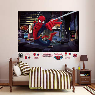 Ultimate Spider-Man Mural